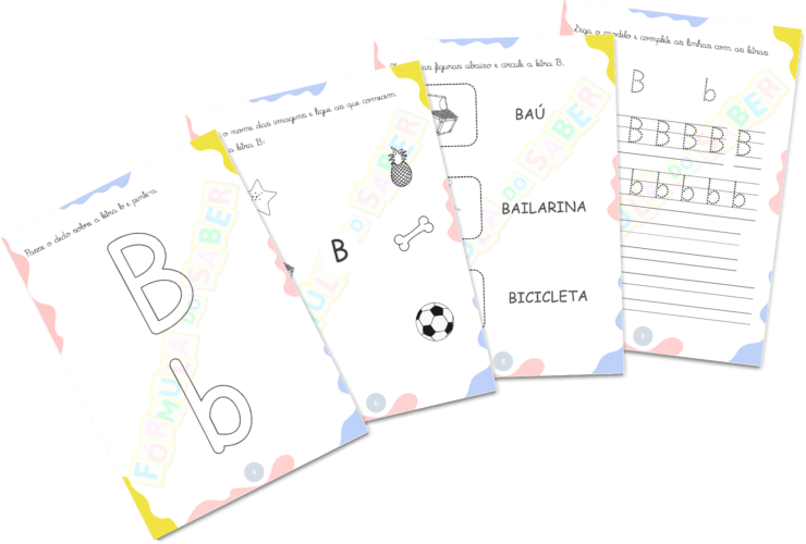 Atividades para Alfabetização - Consoantes