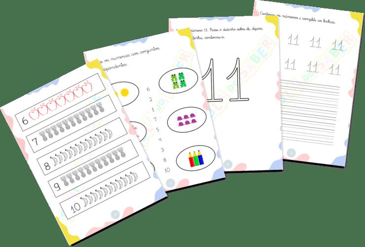 Atividades para Alfabetização - Números 2