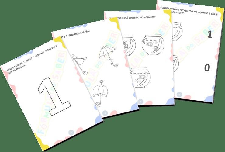 Atividades para Alfabetização - Números