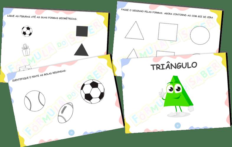 Atividades para alfabetização - Formas Geométricas